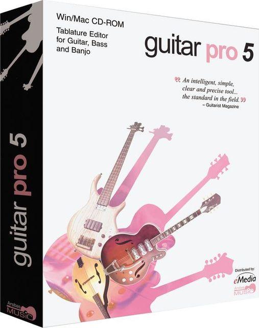 Программа Guitar Pro - многодорожечный редактор гитарных табулатур и